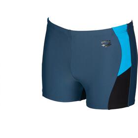 arena Ren Caleçon de bain Homme, shark/black/turquoise